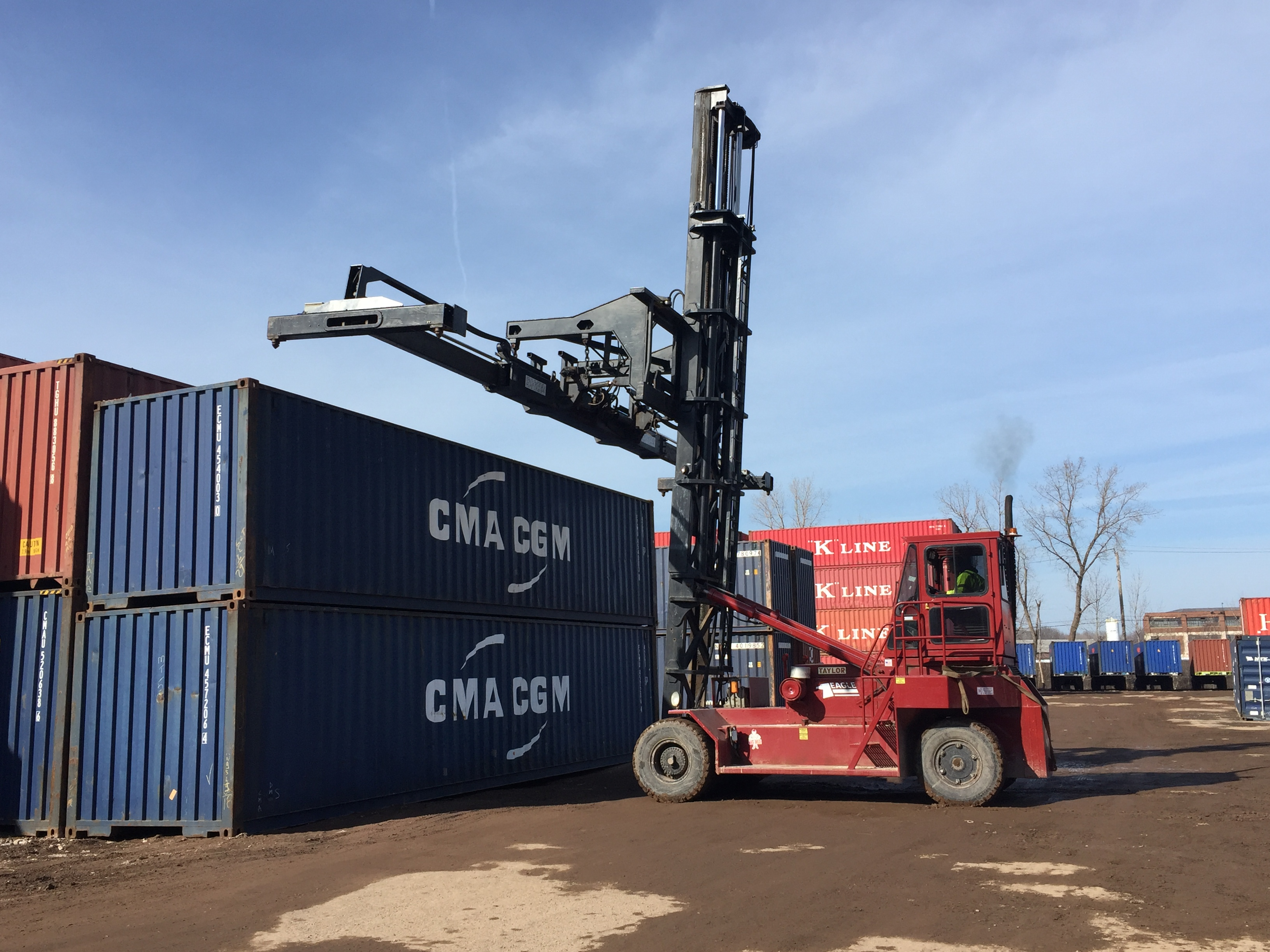 Used Empty Container Handlers Intermodal Equipment Exchange